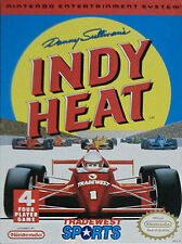 Danny Sullivan's Indy Heat (Nintendo Entertainment System 1992) GAME ONLY NES HQ