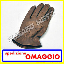 GUANTI ALPINESTARS HERO VENTED TOURING ROAD PELLE NERO LEATHER  BLACK TAGLIA S