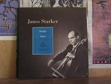 JANOS STARKER, DVORAK FAURE CELLO - ANGEL 35417 LP
