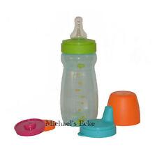 Tupperware TupperCare Baby Milchflasche Nuckelflasche und Nuckeldeckel