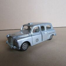Vintage Dinky 284 Austin taxi Londres Queen silver jubileo 1/40