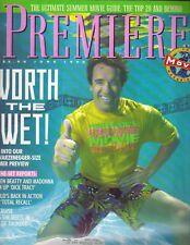 ARNOLD SCHWARZENEGGER Premiere Magazine 6/90 WARREN BEATTY MADONNA TOM CRUISE