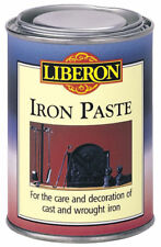 Liberon Iron Paste 250ml - Black Graphite Cast & Wrought Iron Metal Reviver