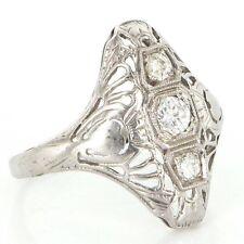 White Gold Vintage & Antique Jewellery