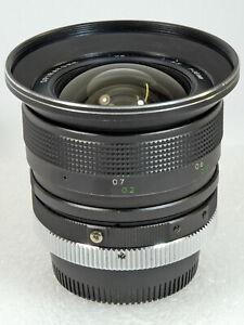 Spiratone 18mm f/3.5 for NIKON Non-AI MF Prime Super Wide-Angle Lens *Excellent