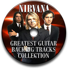 NIRVANA STYLE ROCK METAL GRUNGE GUITAR MP3 BACKING TRACKS CD LIBRARY