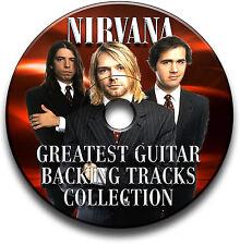 NIRVANA STYLE ROCK METAL GRUNGE GUITAR MP3 BACKING TRACKS CD LIBRARY