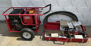 """Hydraulic ICS Concrete Chainsaw And Power Pump Set With Extra Chains Bar 16"""""""