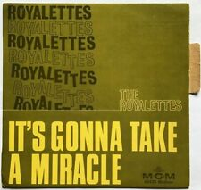 NORTHERN SOUL...  French  EP ... The Royalettes : It's Gonna Take A Miracle + 3