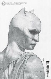 Batman The Detective #1 1:25 FEDERICI B/W Sketch Ratio Variant 2021 First