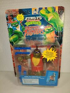 KUNG-FU TMNT Mutant Ninja Turtles Tournament Fighters Donatello **NEW ON CARD**