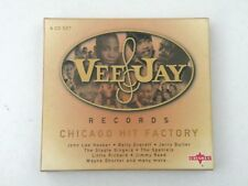 VEE JAY RECORDS - CHICAGO HIT FACTORY - BOX 4 CD + LIBRETTO CHARLY 2004 - EX/EX