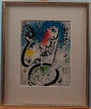 Marc CHAGALL incorniciato lithograph