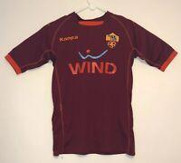 2007-2008 AS Roma ASR Football Jersey Shirt Maglia Home WIND Kappa Men's Size M