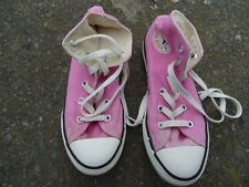 Converse Pink Chuck Taylor All Star Hi Top Uk 13/ Eur 31.5