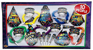 Beistle New Yorker New Years Eve Party Assortment for 10 People