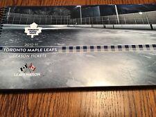 2010/11 Toronto Maple Leafs season ticket set. read description
