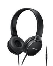 Panasonic RP HF300ME K Overhead Estéreo Auriculares con Micrófono y Remoto