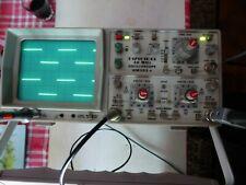 oscilloscope Hameg 303.4 -30 Mhz + 1 sonde neuve 100mhz+cable secteur