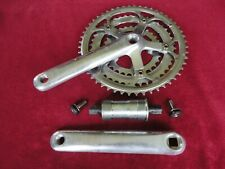 POWER PRO COMPONENTS Alloy Road Triple Crank Set with Bottom Bracket. 172.5mm