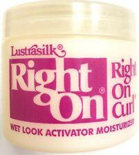Lustrasilk Right on Curl Activator Moisturizer 2oz Original Formula Wet Look