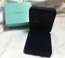 TIFFANY & CO JEWELRY BOX  WITH TIFFANY BLUE OUTER BOX