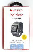 Zagg Invisibleshield HD Transparent Écran Protecteur pour Fitbit Ionic - Cristal