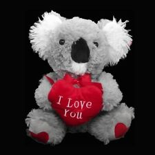 More details for koala i love you teddy bear red heart valentines mothers wedding anniversary