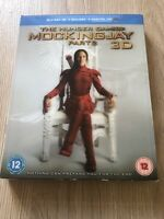 THE HUNGER GAMES:  MOCKINGJAY PART 2. 3D & 2D BLU-RAY + Digital HD Holographic