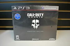 Call Of Duty Ghosts Prestige Edition  PS3 *BRAND NEW SEALED*