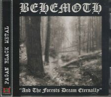 BEHEMOTH - AND THE FORESTS DREAM ETERNALLY (1995/2005) CD+OBI Jewel Case+GIFT