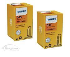 COPPIA LAMPADE PHILIPS VISION FARI XENON  D3S 42V, 35W, 4400 K - COD. 42403VIS1