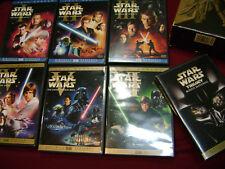 STAR WARS THE COMPLETE SAGA  1-6 DVD  I II III IV V VI  FULLSCREEN -ALL MINT