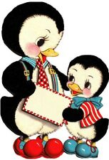 30 Custom Penguins Personalized Address Labels