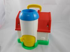 """Fisher Price Discovery Farm Activity Toy 8"""" Tall 1990"""