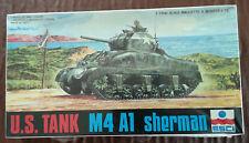 ESCI Model Kit - No. 8028 - 1:72 U.S. Tank M4 A1 Sherman