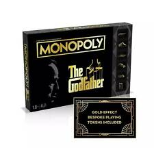 The Godfather Monopoly Juego de Mesa Por Winning Moves & Hasbro Gaming