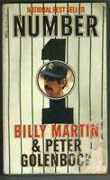 Number 1 Billy Martin & Peter Golenbock 1980 NEW YORK YANKEES PC