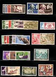 Laos 1952/57 Selection incl Airmail SG42 (Cat£150) LMM/MNH Cat £342.00++