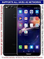 """Huawei Honor 7X 64GB 5.93"""" 2160*1080 Display Kirin 659 Octa Core 4GB RAM 16MP"""