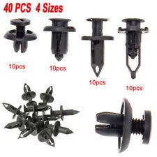 40PCS Universal Car Push Retainer Pin Body Bumper Rivet Trim Moulding Clip Kits