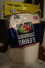 Fruit of the Loom Men's 100% Cotton White- 7 Pack