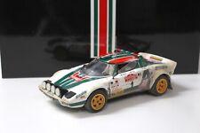 1:18 SunStar 1976 Lancia Stratos HF Rally Sanremo Muddy NEW bei PREMIUM-MODELCAR