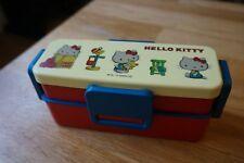 Skater Japan Sanrio Hello Kitty Retro 2-Tier Bento Box::Excellent quality::