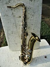 LAMONTE TENOR SAXOPHONE, MADE IN ITALY, VERY CLEAN