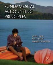 Fundamental Accounting Principles John Wild Barbara Chiappetta John Wild 21st e