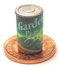 Escala 1:12 Jardín guisantes Estaño casa de muñecas cocina alimentos vegetales pueden Accesorio