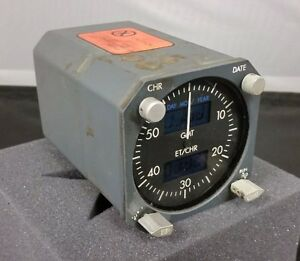 Boeing 737  Digital Electronic Chronometer/Clock,  *As-Removed*, P/N-2610-07-1