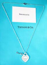 Return to TIFFANY & CO. Pendente Heart Tag con chiave Argento Silver