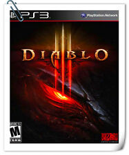 PS3 DIABLO 3 III SONY PlayStation Blizzard Action Adventure Games